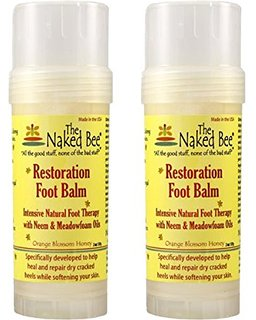 Naked Bee Foot Balm 2 pack