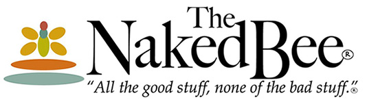 The Naked Bee Logo
