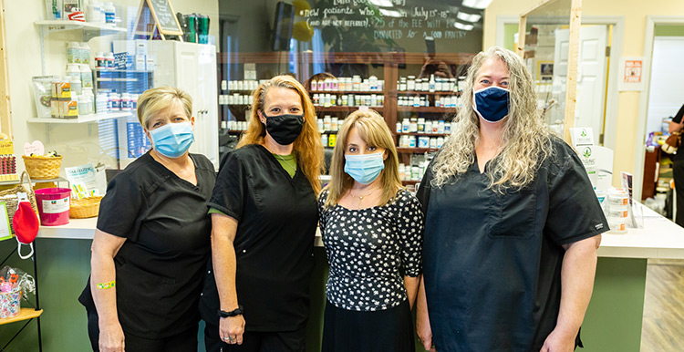 Crosby Chiropractic Support Staff